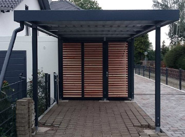 carport bauen f r pkw hochwertigen profi carport g nstig. Black Bedroom Furniture Sets. Home Design Ideas