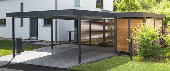 carports garagen fertiggaragen kaufen esb. Black Bedroom Furniture Sets. Home Design Ideas