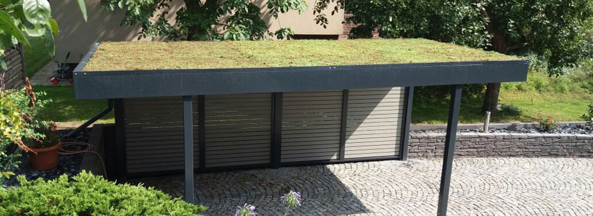 carport bauplan bauen mit dem carport doppelcarport. Black Bedroom Furniture Sets. Home Design Ideas