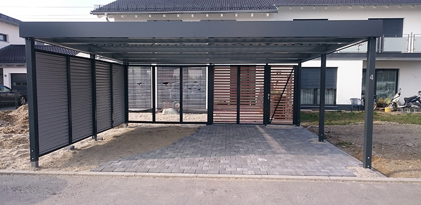 carport preis carport with carport preis kaufen preise info mit abstellraum design carport. Black Bedroom Furniture Sets. Home Design Ideas